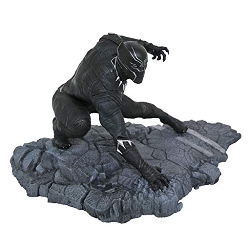 バタフライ弱い締める玩具像玩具モデル漫画キャラクターブラックパンサー映画シリーズキャラクターお土産像15センチ Hyococ