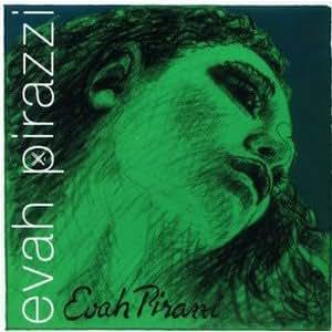 EVAH PIRAZZI エヴァ ピラッツィ 分数バイオリン弦セット (1/4+1/8)