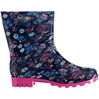 Rock and Rags Womens Print Ladies Wellies