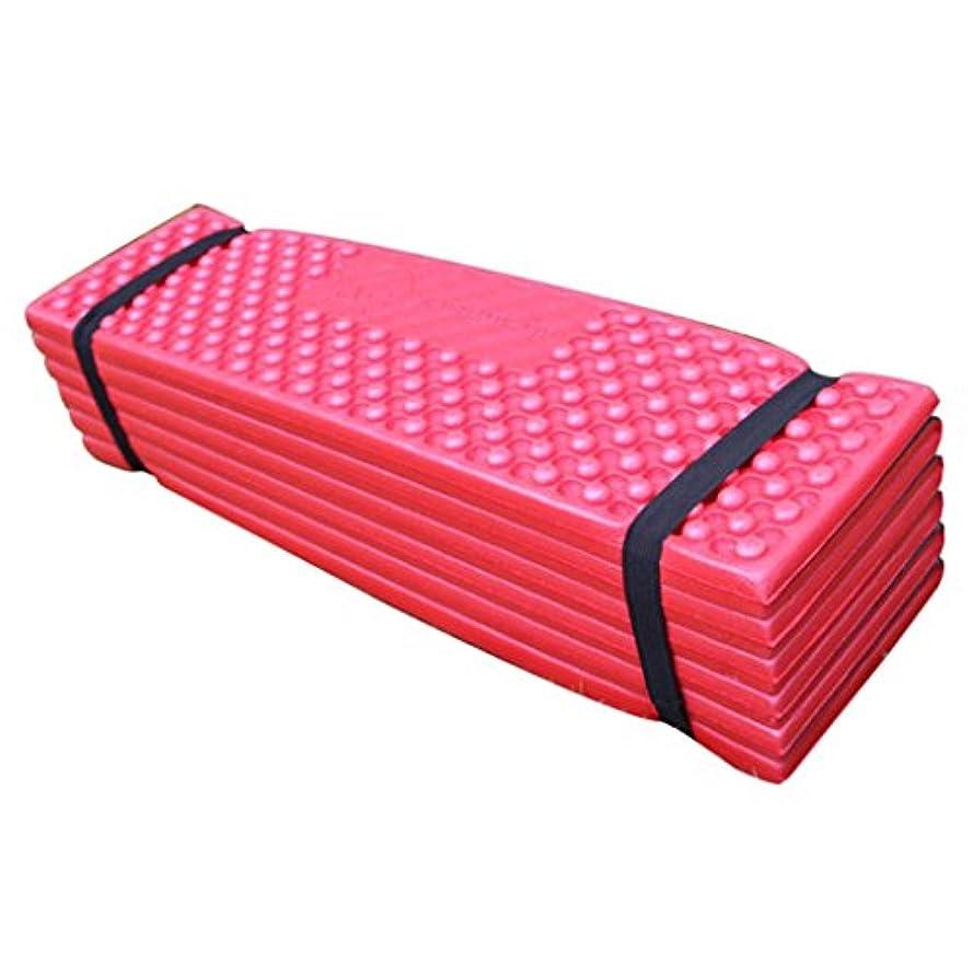 テーブルを設定する詳細に後継Homyl 4色選べる ポータブルシートパッド 折りたたみシートクッション 防水ピクニッククッション