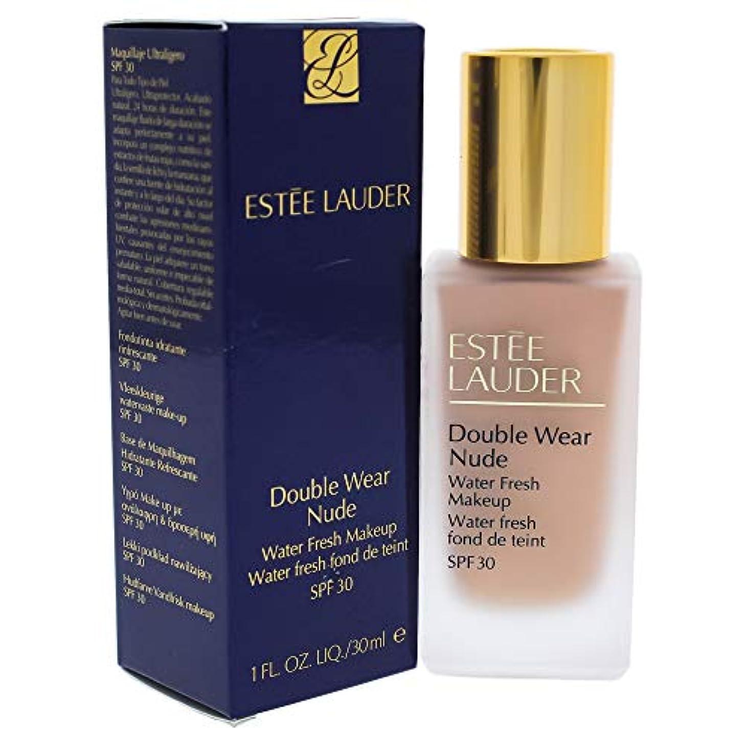 抑圧する暫定の予備エスティローダー Double Wear Nude Water Fresh Makeup SPF 30 - # 2C2 Pale Almond 30ml/1oz並行輸入品