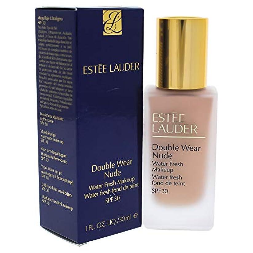 外国人懐疑論シールエスティローダー Double Wear Nude Water Fresh Makeup SPF 30 - # 2C2 Pale Almond 30ml/1oz並行輸入品