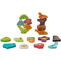 西松屋 [SmartAngel] 森のおもちゃ つんで遊ぼう!恐竜つみき