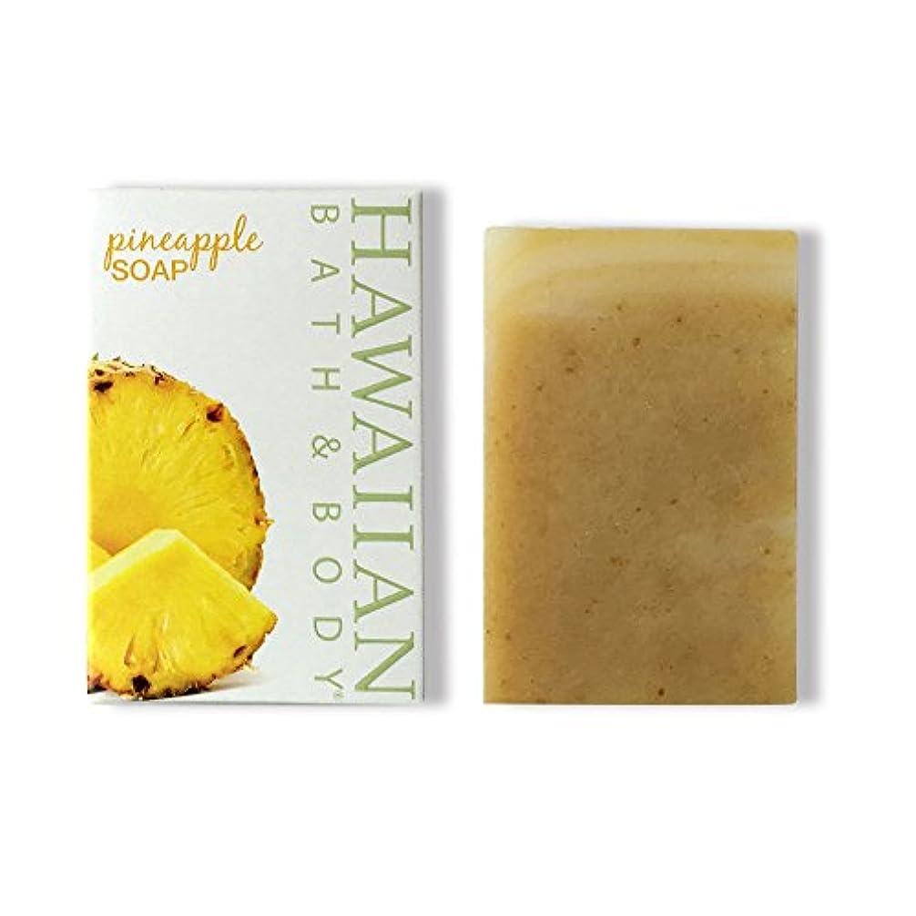 表面的な強大なびっくりするハワイアンバス&ボディ ハワイ?パイナップルソープ ( Pineapple Soap )