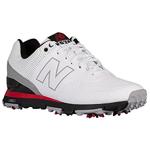 (뉴 밸런스 골프) New Balance Golf 남성 골프화 신발 NBG574WRD [병행 수입품]/(New Balance Golf) New Balance Golf Men`s Golf Shoes | Shoes NBG 574 WRD [Parallel import goods]