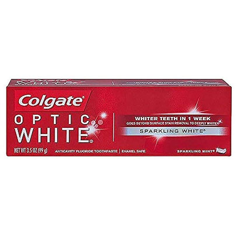 主張する差し引くベアリングサークルコルゲート ホワイトニング Colgate Optic White Sparkling White 99g 白い歯 歯磨き粉 ミント