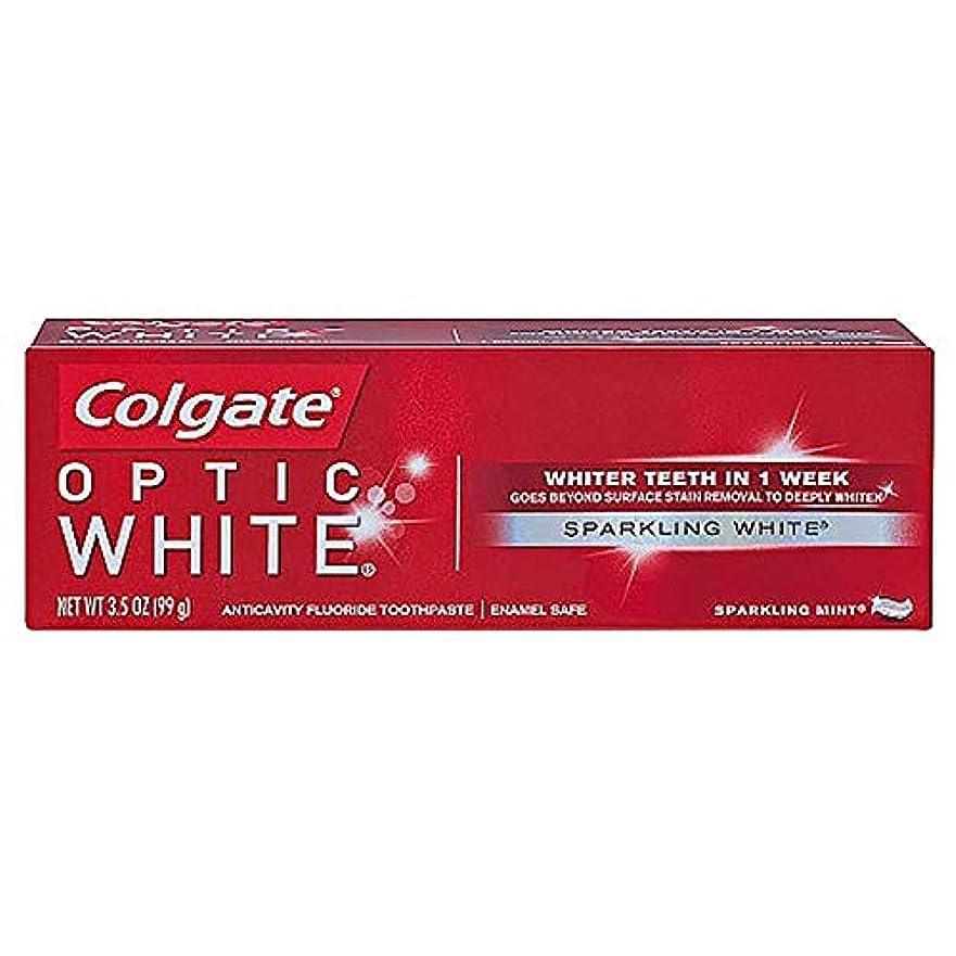 値するサーフィン時代遅れコルゲート ホワイトニング Colgate Optic White Sparkling White 99g 白い歯 歯磨き粉 ミント