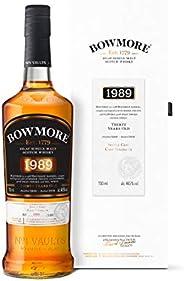 【Amazon.co.jp限定】 シングルモルト スコッチウイスキー ボウモア 30年 1989 シングルカスク [ ウイスキー イギリス 700ml ] [ギフトBox入り]