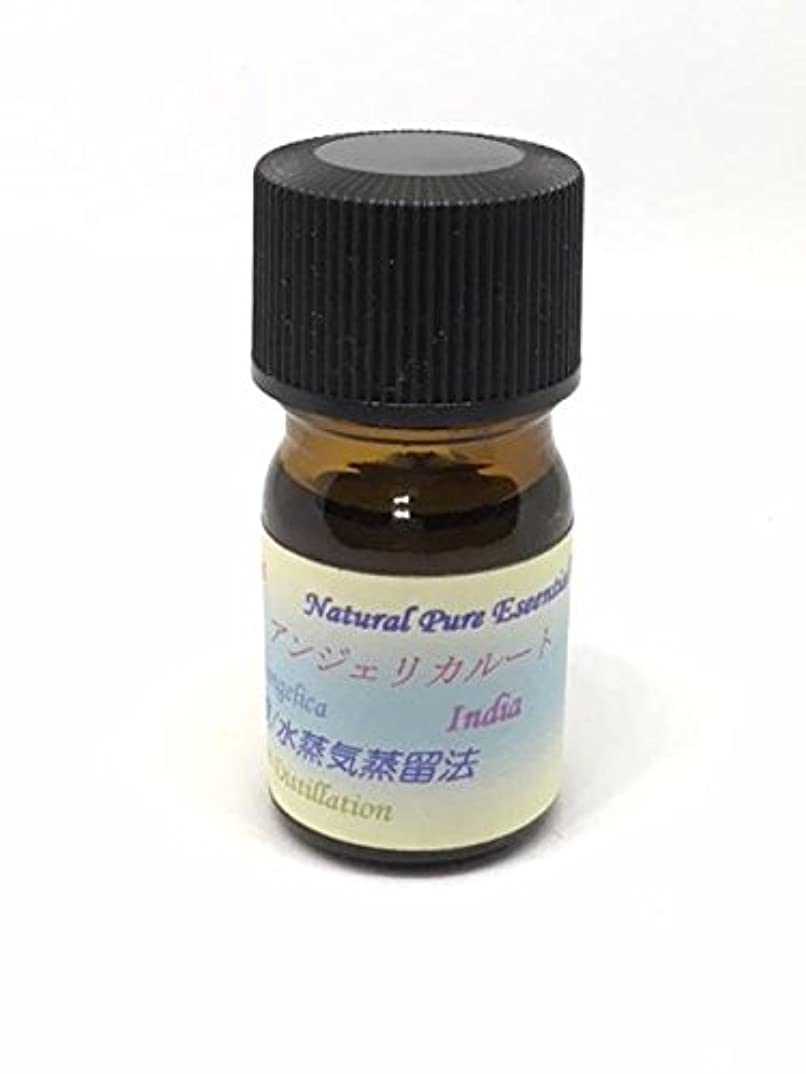 アンジェリカルート精油 5ml ピュアエッセンシャルオイル (ハーブ系)