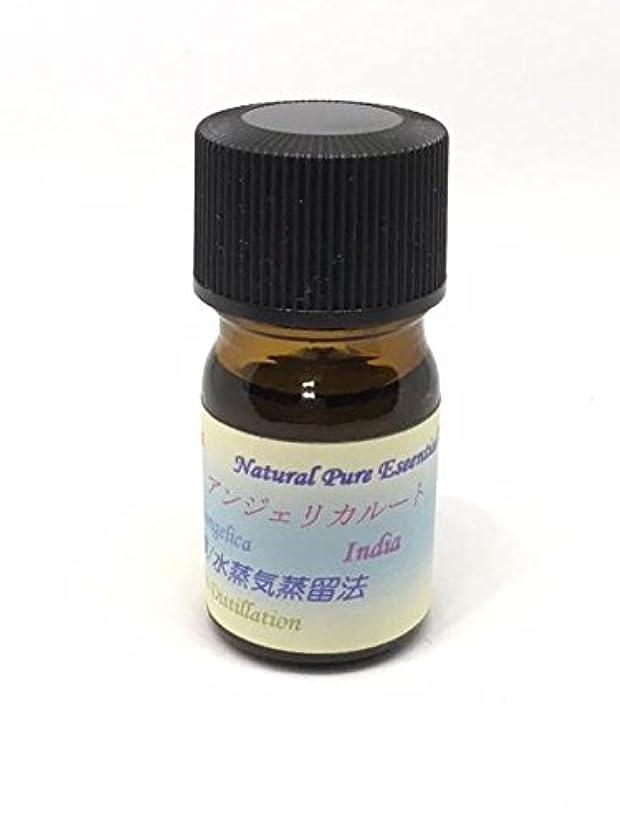 マージン雲ビットアンジェリカルート精油 5ml ピュアエッセンシャルオイル (ハーブ系)