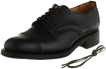 Military Derby Shoe 9071: Black