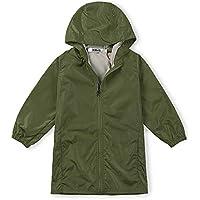 OCHENTA Kids Boys' Girls' Lightweight Rain Jacket Waterproof Hooded Outwear