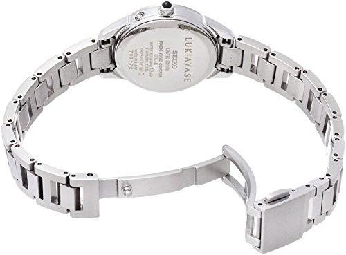 [ルキア]LUKIA 腕時計 LUKIA LUKIAYASE限定 綾瀬はるかプロデュース ダイヤ入り白蝶貝ダイヤル SSVW115 レディース