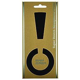 mimimamo スーパーストレッチヘッドホンカバー L (黒)