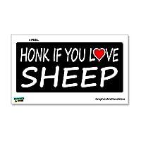 あなたは羊のステッカーを愛していれば鳴らします