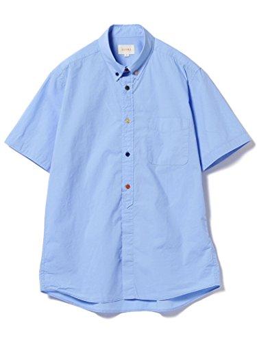 (ビームス) BEAMS/ブロード マルチボタン 半袖シャツ 11010810301