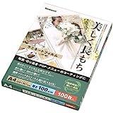 ナカバヤシ ラミネートフィルム 100枚入 220×307mm A4 LPR-A4-E