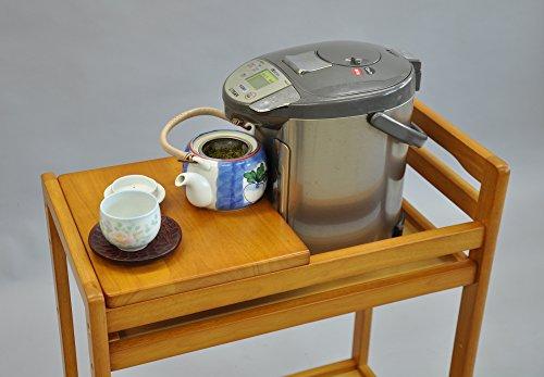 エイ・アイ・エス(AIS) 木製キッチンワゴン ブラウン QM-005