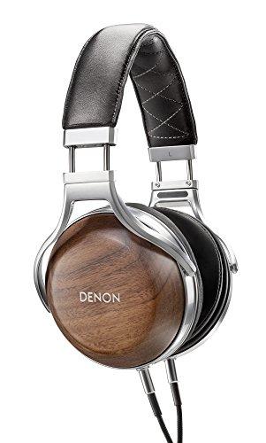 DENON ヘッドホン オーバーイヤー/ハイレゾ音源対応/ウッドハウジング 木目 AH-D7200