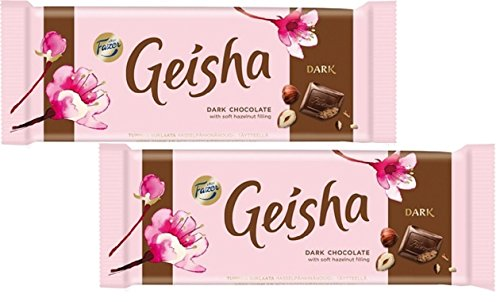 Fazer Geisha ファッツェル ゲイシャ ダーク チョコレート 100g×2パック フィンランドのチョコレートです