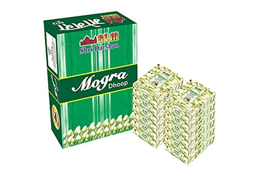 雑品麦芽説教SLM MOGRA DHOOP Whole Pack 12 Pcs,240 Sticks