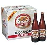 キリン ラガー生ビール 大びんセット K-NRLB12