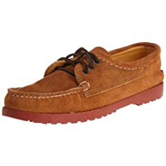 Quoddy Trail Moccasin Blucher 501: Tost Suede