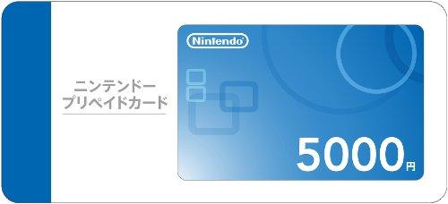 ニンテンドープリペイドカード 5000円
