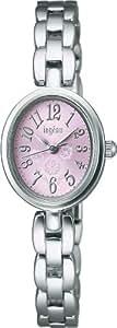 [アルバ]ALBA 腕時計 ingenu アンジェーヌ カーブ無機ガラス 日常生活用防水 AHJK403 レディース