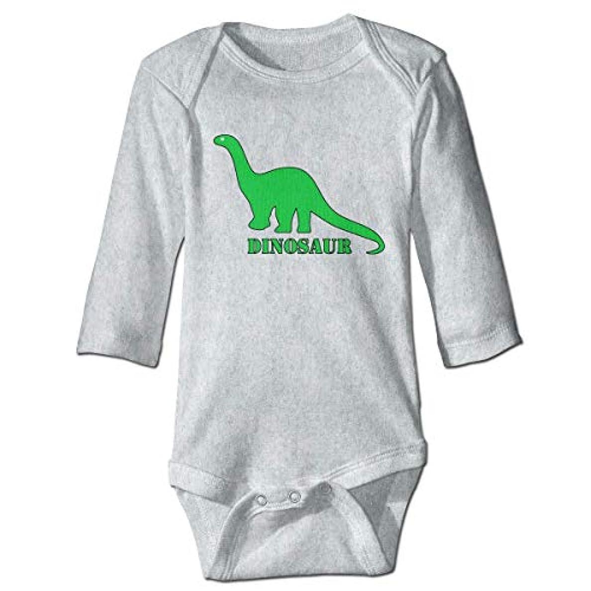 ゲージスキッパー南極NMDJC CCQグリーン恐竜ベビーボディスーツかわいいワンシーコットンロンパースコスチューム、12 M
