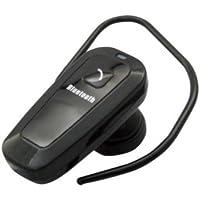 エアージェイ airphone コンパクトモノラルタイプ BluetoothV2.0+EDR class2 iPhone4S/4/3GS/3G スマートフォン/携帯電話対応 ブラック BT-A1SS