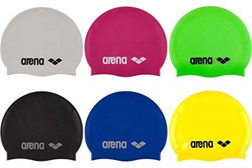 arena(アリーナ) シリコンキャップ 両側ロゴ2個付き スイムキャップ [並行輸入品]