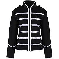 Ro Rox Women's Ladies Steampunk Military Punk Parade Jacket