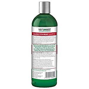 Vet's Best Natural Formula Shampoo Allergy Itch Relief Dogs Sensitive Skin 16oz