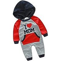 Dovewill 新生児 シャム ジャンプスーツ ボディスーツ 赤ちゃん ロンパー  コットン 全2色 全4サイズ