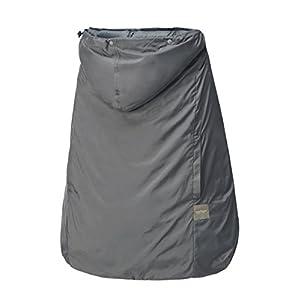 ベビーホッパー(BABYHOPPER) ダウン90% 抱っこひも 防寒 カバー レインカバー オールウェザーダウンカバー/グレー 3Way 通年使える ベビーカーでも使える CKBH05301