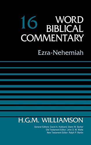 Download Ezra-Nehemiah (Word Biblical Commentary) 0310522137