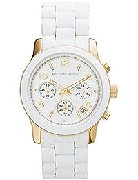 Michael Kors MK 5145 White/Gold Tone Chronograph Women's Watch