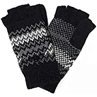 Accessory Necessary LL- Fingerless Flipover Wool Blend Womens Kids Mitten Winter Gloves Many Styles