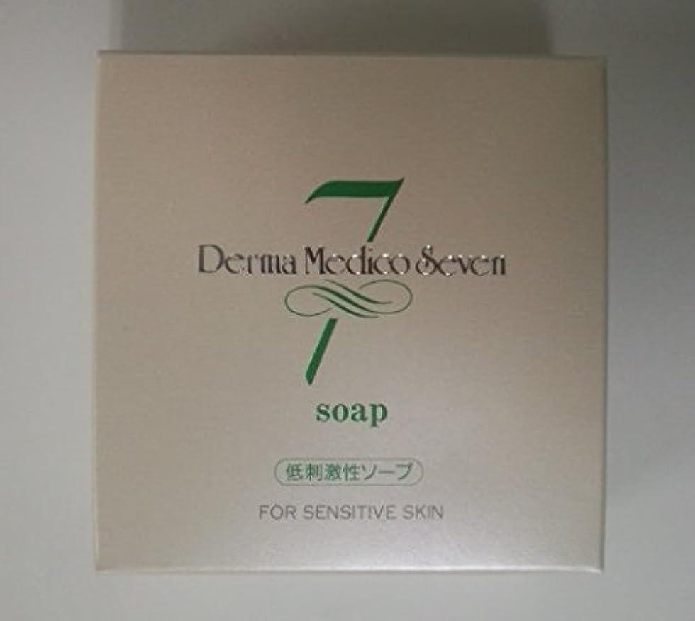 舞い上がるほこり確認するダーマメディコセブン ソープ