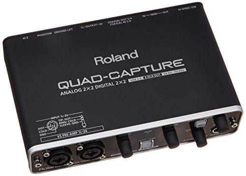 Roland ローランド オーディオインターフェイス QUAD...