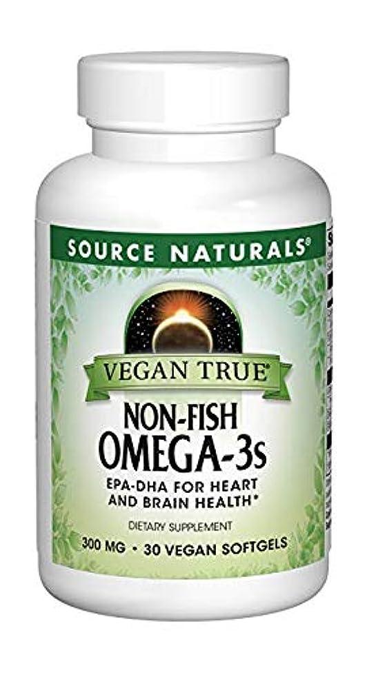 フットボール答え小川2個セット ビーガントゥルー オメガ3(植物由来EPA/DHA)フィッシュフリー 300mg 30粒[海外直送品]