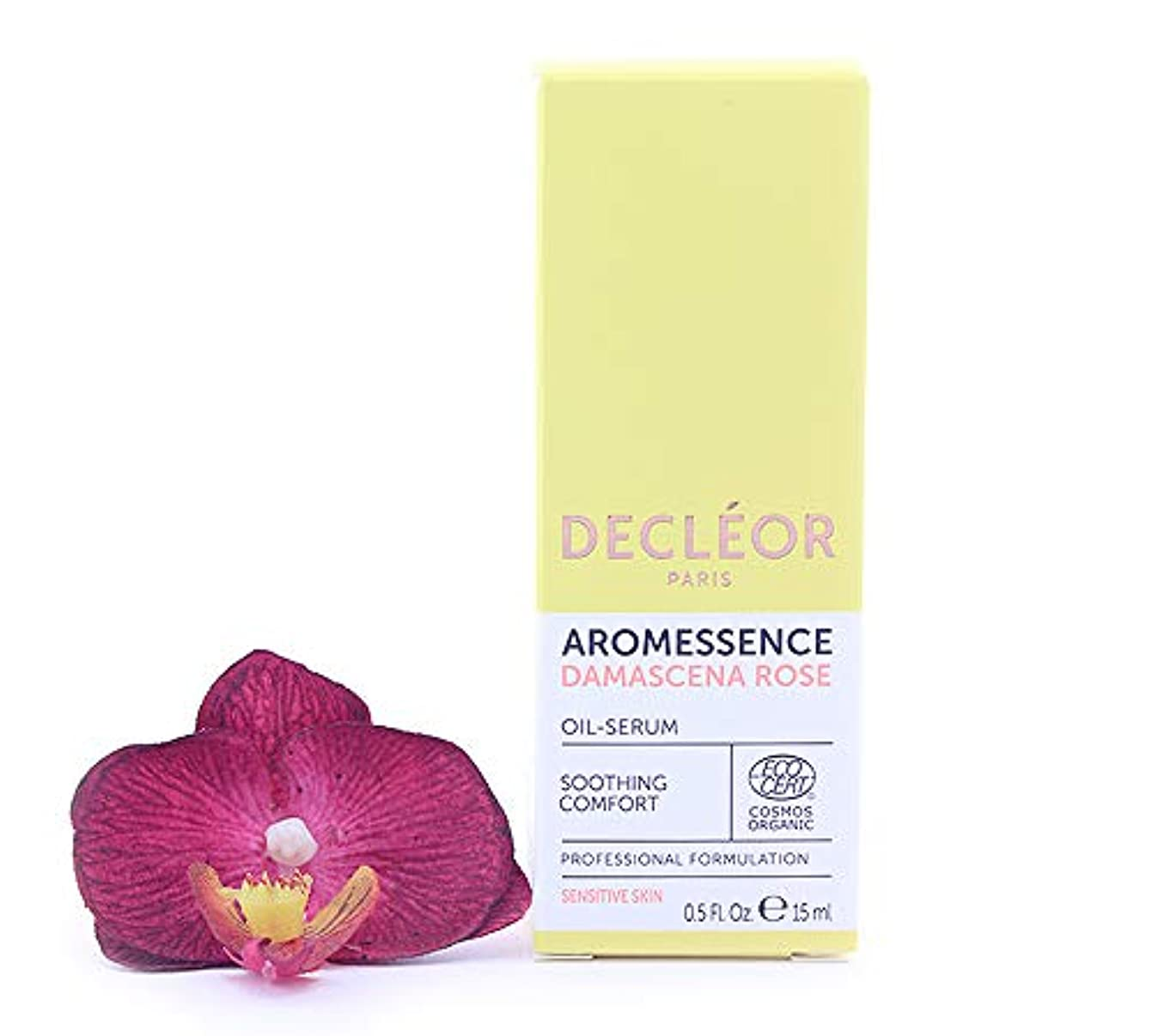 狂った劇的月曜デクレオール Aromessence Rose D'Orient (Damascena Rose) Soothing Comfort Oil Serum 15ml/0.5oz並行輸入品