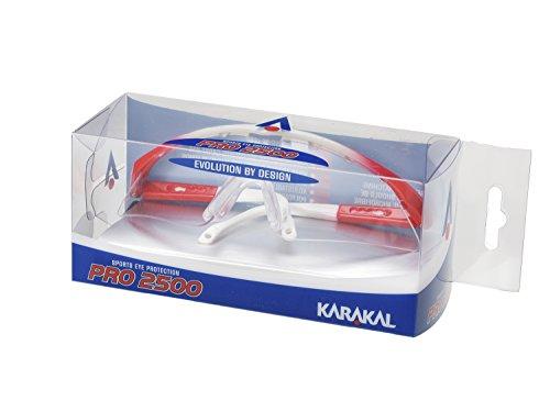 KARAKAL(カラカル) アイガード スカッシュ ラケットボール用 PRO 2500 EYE GUARD KA 643 赤 S