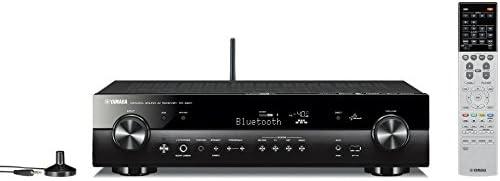 ヤマハ AVレシーバー 5.1ch/4K/Bluetooth/Wi-Fi/ネットワークオーディオ/ハイレゾ音源対応 ブラック RX-S601(B)
