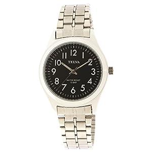 [クレファー]CREPHA 腕時計 アナログ ブレスレット 10気圧 防水 ブラック TE-AM010-BKS メンズ