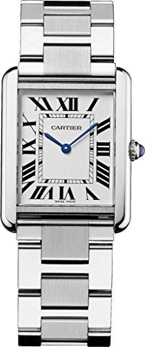 [カルティエ]Cartier 腕時計 タンクソロ シルバーダイ...