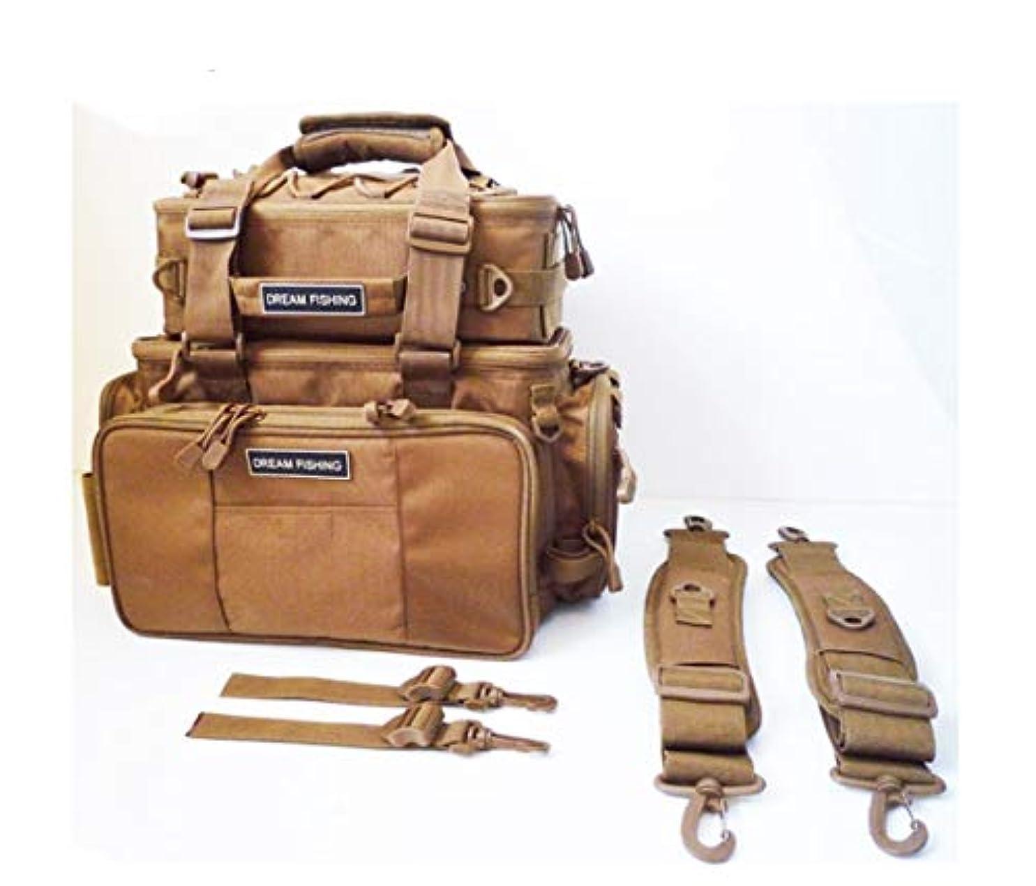 裂け目もの回復するCetengkeji 多機能ポケット釣り用品アクセサリー専用バッグバックパックアウトドアバッグ