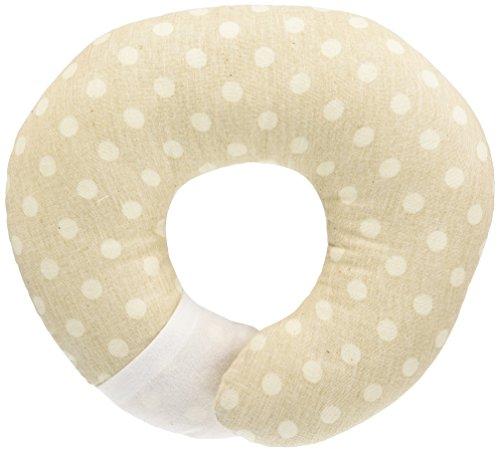 アリスインターナショナル エスメラルダ ドーナツ枕 グレージュドット 日本製 赤ちゃんの頭の形が良くなる