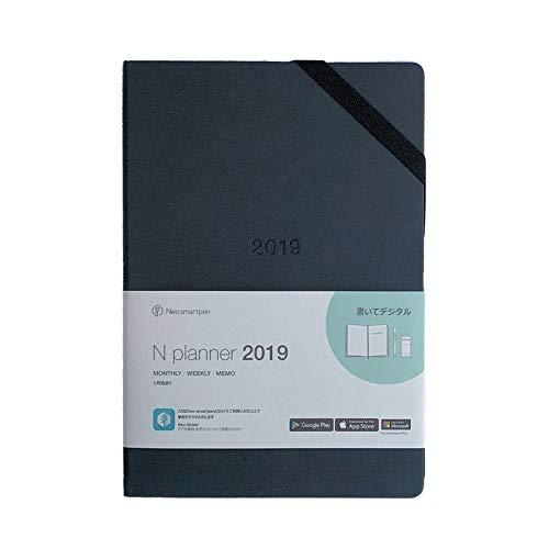 【正規品】Neo smartpen Nプランナー 2019年<1月始まり> デジアナ手帳 Sync with Googleカレンダー ブラック 【マンスリー/ウィークリー】